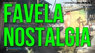 Favela Nostalgia & AC-130 Gameplay! Philosphical Gameplay Commentary (Ghosts Invasion DLC)
