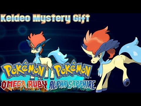Pokémon 20th Anniversary Keldeo Mystery Gift