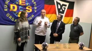 11. Handball-EM der Gehörlosen in Berlin - Auslosung