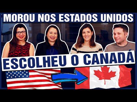 Ela morou nos Estados Unidos mas preferiu imigrar para o Canadá