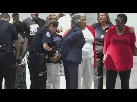 Rep.-Joyce-Beatty-arrested-during-voting-rights-demonstration-in-Washington-D.C.
