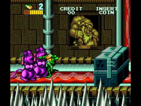 Arcade Longplay [480] Battletoads