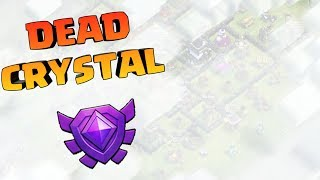 CRYSTAL LEAGUE IS DEAD IN COC, PLAYING TH9,CLASH OF CLANS INDIA