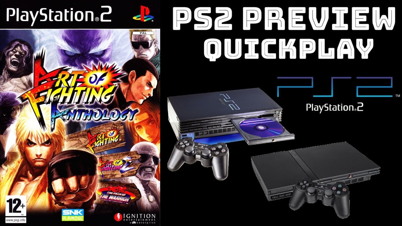 Art Of Fighting Anthology Ps2 Gameplay Walkthrough Preview Quickplay No Commentary Hd1080p Youtube