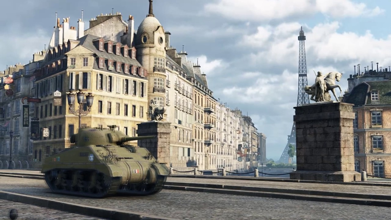 reconstitution historique lib ration de paris 25 ao t 1944 world of tanks youtube. Black Bedroom Furniture Sets. Home Design Ideas