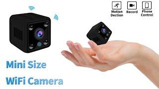 spy WiFi Camera, How to Setup Mini WiFi IP Security Camera Network