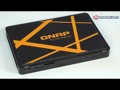 QNAP TBS-453A-4G mini SSD-NAS review - Hardware.Info TV (4K UHD)