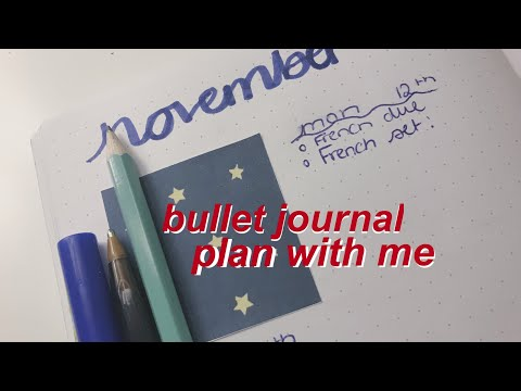 bullet journal plan with me | amy studies