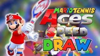 Mario Tennis Aces Speed Draw