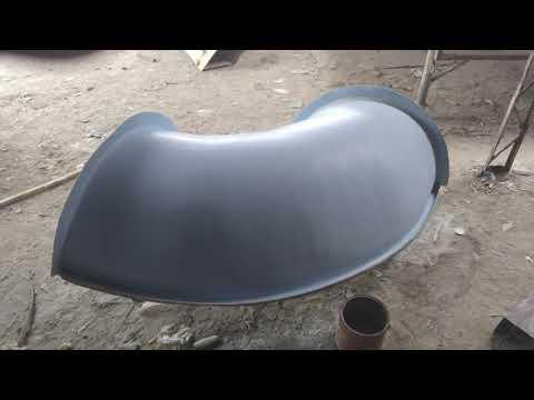 Fabrication Of Fiberglass Circular Spiral Slide
