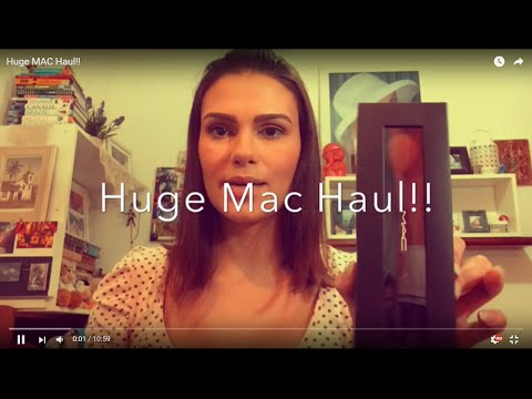 Huge MAC Haul!!