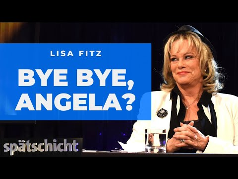 Lisa Fitz: Abschiedslied für Angela Merkel | SWR Spätschicht