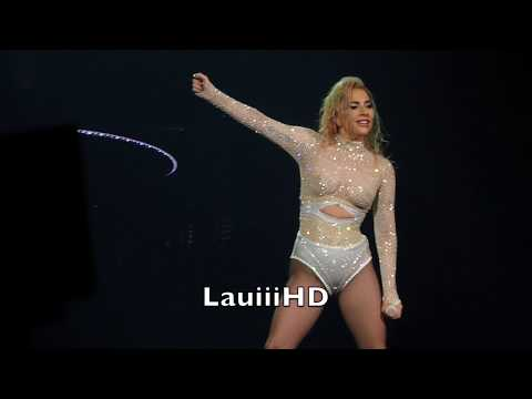 Lady Gaga  Cure   in Barcelona, Spain 14012018 FULL HD