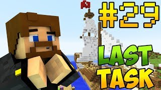 Minecraft LastTask 2 #29 - ПАРУСА ТОРГОВОГО КОРАБЛЯ