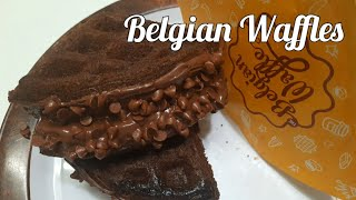 Belgian Waffles Recipe  Easy Homemade Belgian Waffle Recipe  Eggless Crispy Waffle  Waffle recipe
