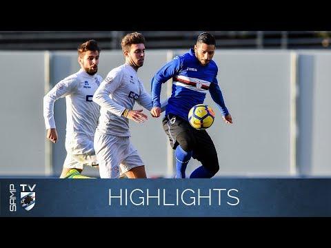 Skrót meczu Sampdoria - Ligorna 7-0. Wideo