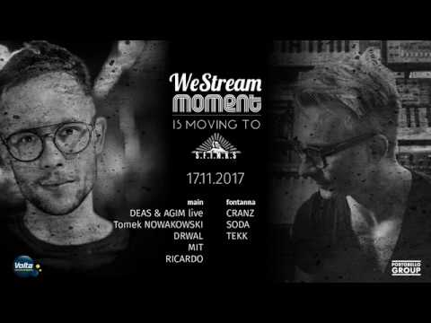 DEAS & A_GIM full live performance   We Stream Moment is moving to (Sfinks700 17.11.2017)