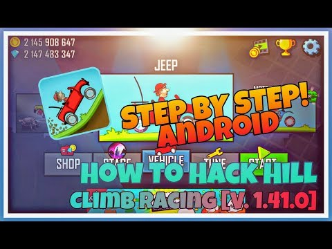 How To Hack Hill Climb Racing [V. 1.41.0] | Android