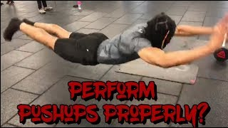 How To Do Pushups Correctly