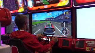 "Daytona Championship USA ""Definitive Version"" (Sega Amusements) - IAAPA 2017"