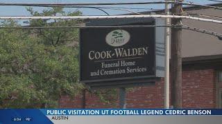 Family, friends remember Cedric Benson at visitation