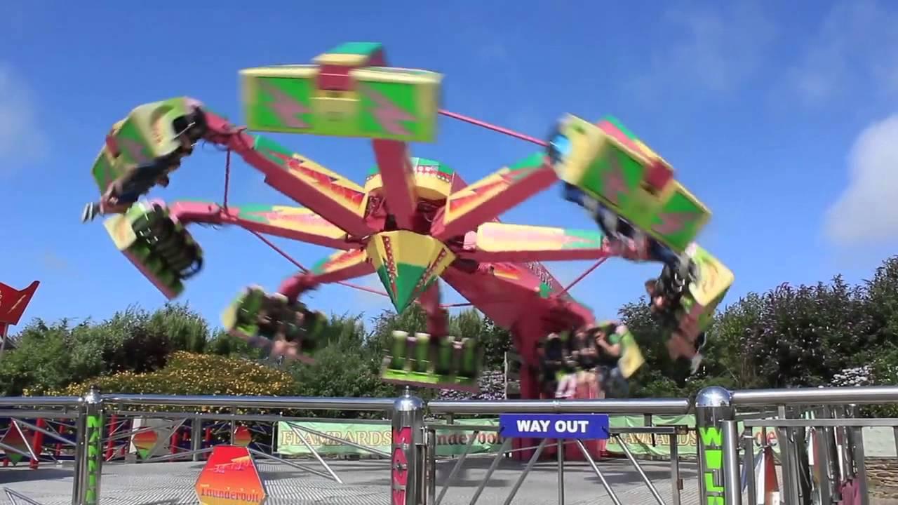 The Thunderbolt Ride At Flambards Theme Park Helston