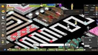 Zerando um labirinto no Habbo em 4min (Lvl Fácil)