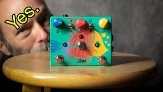 JAM Pedals Ripply Fall = Rich Chorus/Phaser/Vibrato Tone!