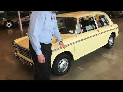1969 Austin America walk through at McCloskey Motors in Colorado Springs