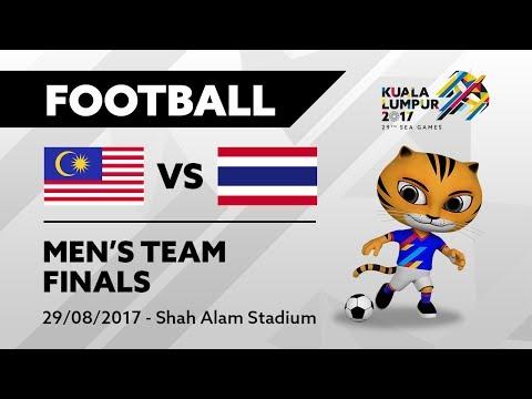 KL2017 29th SEA Games | Men's Football - FINALS - MAS 🇲🇾 vs THA 🇹🇭 | 29/08/2017