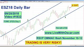 Oscar Carboni Says Red OMNI ES & DOW With Gaps In Need of Filling 09/25/2018 #1832