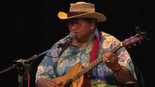 George Kahumoku Jr. and Ledward Kaapana perform live at the Cedar C...
