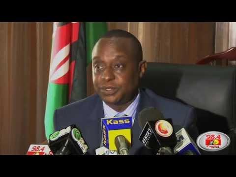 Treasury Secretary Rotich assumes office