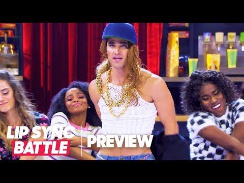 "Darren Criss Slays Mariah Carey's ""Heartbreaker"" | Lip Sync Battle Preview"