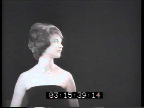 Gossamer hair spray 1960 TV commercial