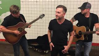 Justin Moore - Point At You (Pop Up Show in NYC Subway) thumbnail