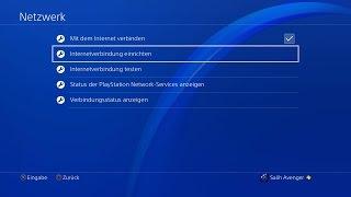 PS4 Tutorial: PSN Spiele PS4 schneller Downloaden Internet Geschwindigkeit erhöhen