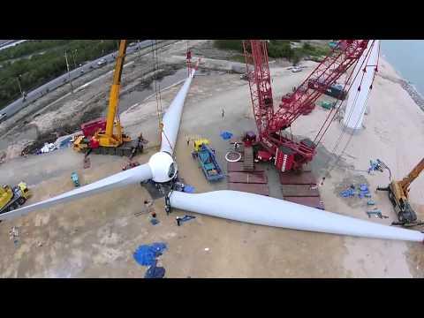 โครงการทุ่งกังหันลมปากพนัง 10 MW
