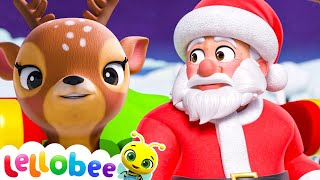 Santa's Raindeer Song - Christmas Songs for Kids | Nursery Rhymes | ABCs and 123s | Little Baby Bum!