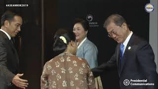 Arrival of Leaders and ASEAN-ROK Welcoming Dinner Hosted by ROK President Moon Jae-in