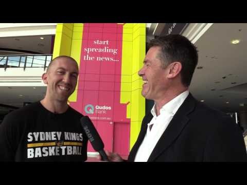 Neil Cordy interview with SYdney Kings Steve Blake