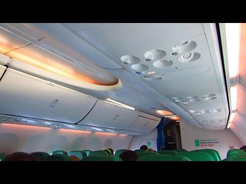 TRIP REPORT | TRANSAVIA 737-800 with SKY INTERIOR | Munich to Berlin SXF [Full HD]