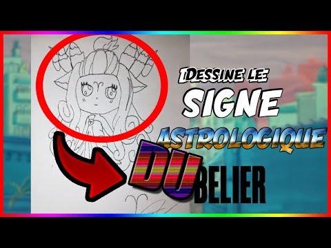 JE DESSINE UN SIGNES ASTROLOGIQUE EN MANGA !! - With Flash