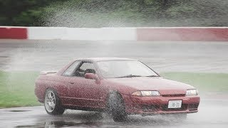 Drifting in the Rain! Second Drift Event for the Skyline!!!