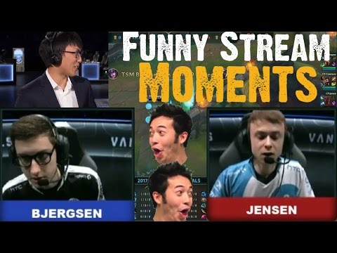 Bjergsen VS Jensen | DOUBLELIFT FLAMES C9 ON LCS FINALS| Funny/Epic Moments | Funny Stream Moments