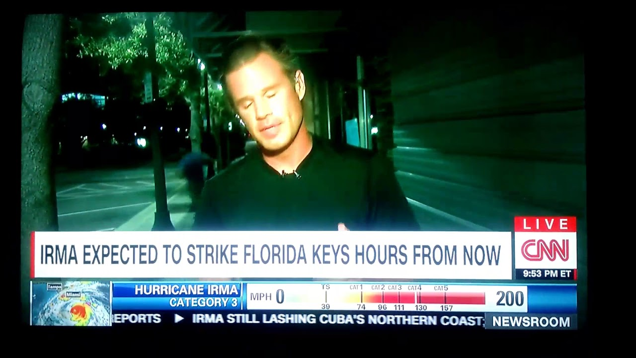 Fuck Irma in the Pussy (CNN Live)