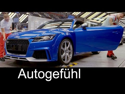 Audi TT RS production assembly plant Hungary - TT Produktion Ungarn