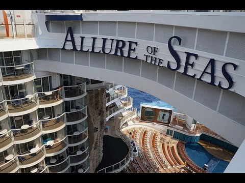 Fort Lauderdale Cruise Port >> Allure of The Seas day 1. Royal Caribbean Cruise, 7 day ...