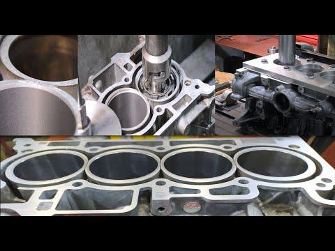 Гильзовка алюминиевого блока цилиндров Renault Scenic 3