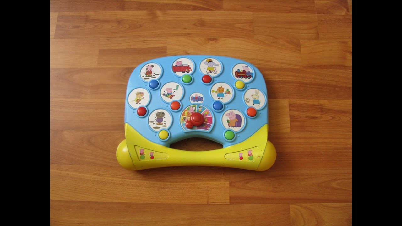 Peppa Pig Phonics & Games Interactive Toy with Sounds